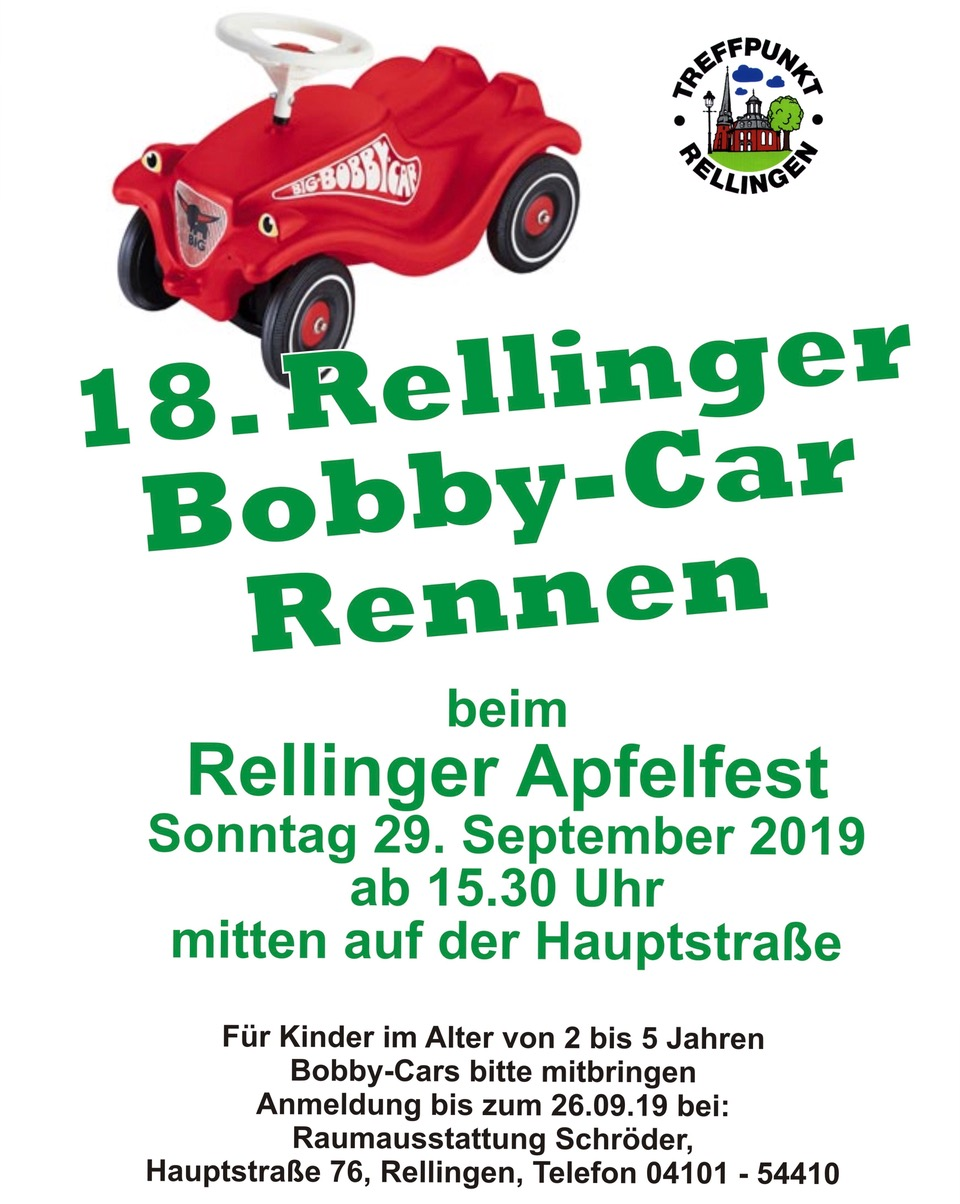 Bobby Car Plakat 2019